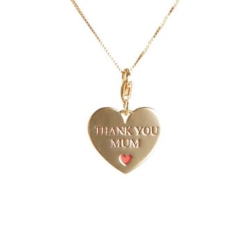 Collana in Argento 925 Thank you mom